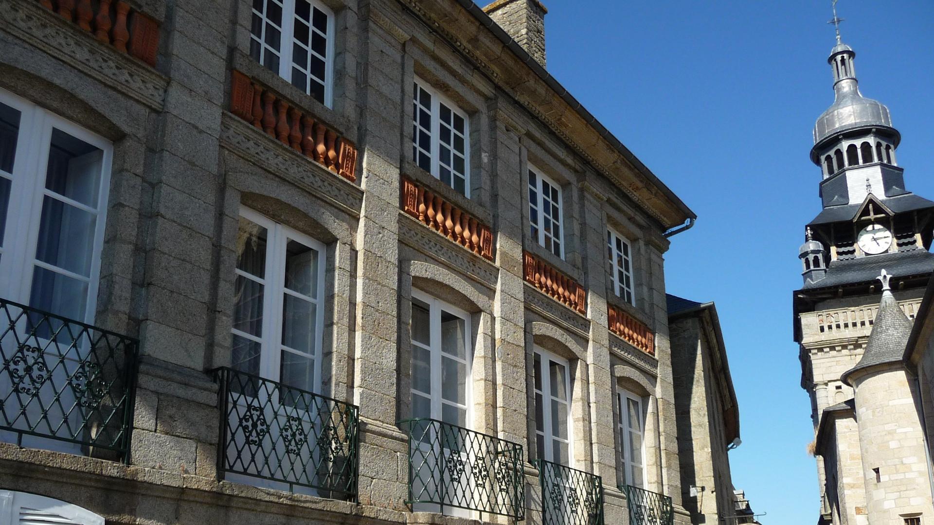 L'hôtel Latimier de Clezieux Moncontour
